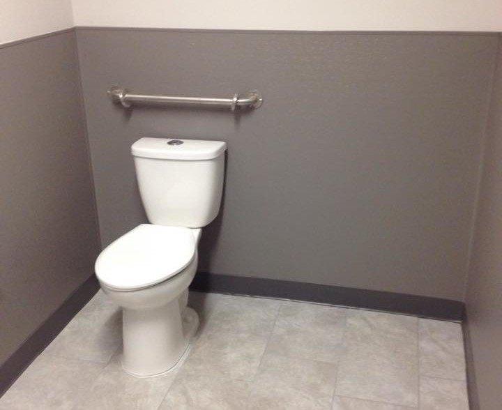 Employee Bathroom renovation